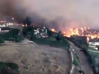 آتشسوزی کالیفرنیا آمریکا +فیلم