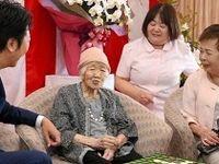 پیرترین فرد جهان چند ساله است؟