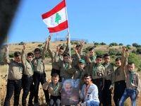 عکس سردار سلیمانی در دستان کودکان لبنانی +تصویر
