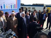 روحانی: تا پایان دولت هر ماه یک راهآهن افتتاح میشود