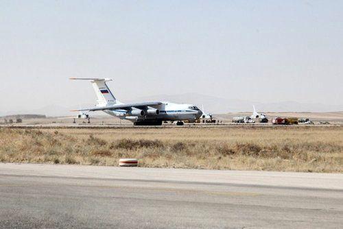 بمبافکنهای روسی در پایگاه هوایی همدان