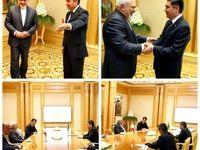 ظریف با محمداف دیدار کرد +عکس