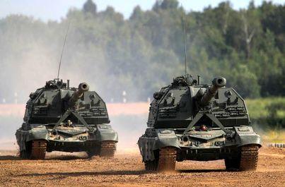 مانور نظامی روس
