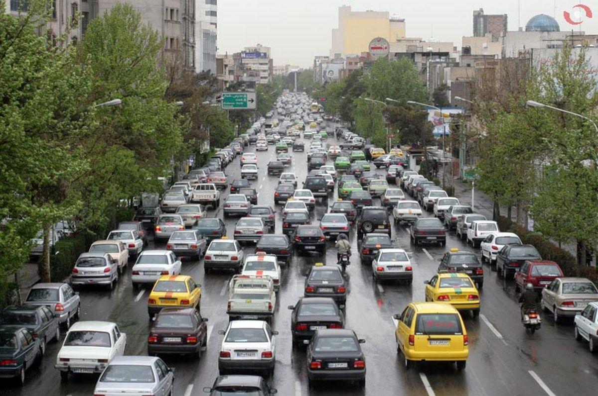 وضعیت ترافیک صبحگاهی بزرگراههای پایتخت
