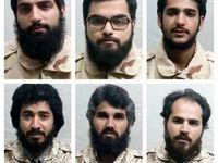 تماس تلفنی مرزبانان ایرانی ربوده شده با خانوادههایشان +عکس