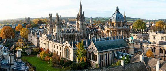 آکسفورد در بریتانیا دوم شد