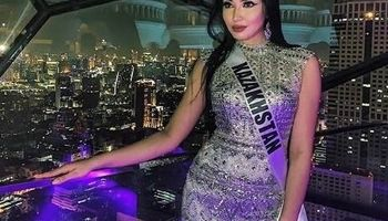 سرگرمی عجیب ملکه زیبایی قزاقستان +عکس