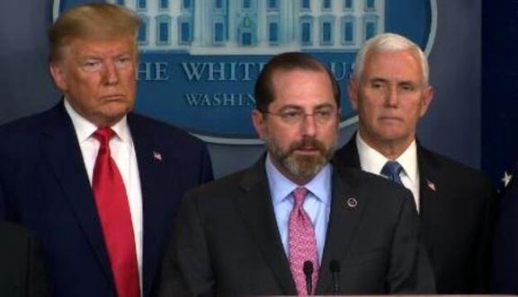 ترامپ برکناری وزیر بهداشت آمریکا را تکذیب کرد