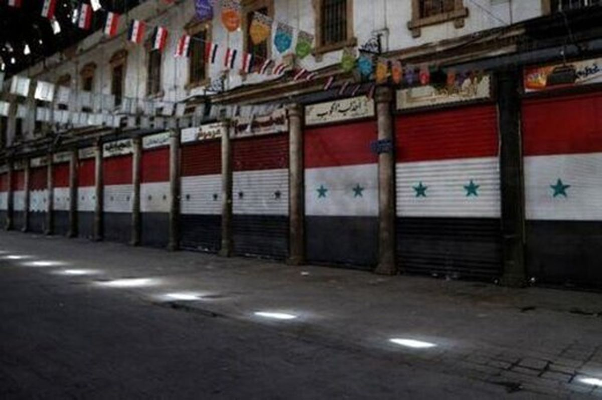 سوریه هم قرنطینه شد