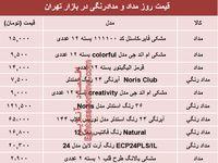 قیمت مداد در بازار تهران چند؟ +جدول