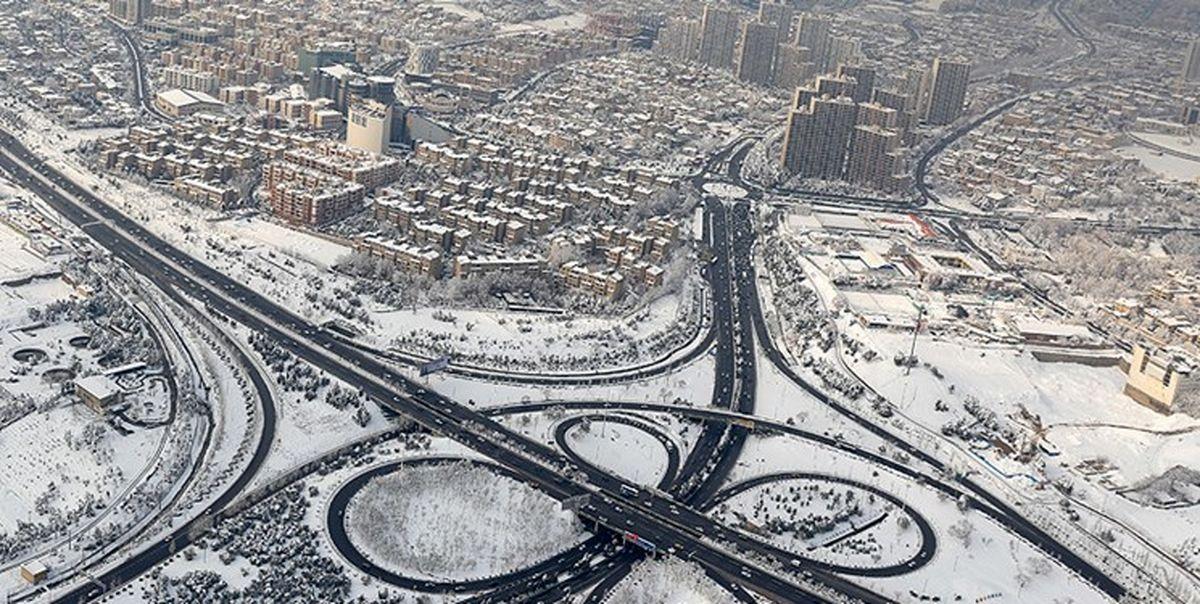 زمستان ایران پربرف است