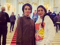 گشت و گذار خواهران بازیگر در روسیه +تصاویر