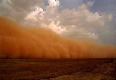 توفان شن جاده ریگان - ایرانشهر را بست