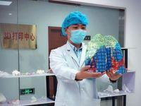 ماکت ریه آلوده به کرونا در چین ساخته شد +عکس