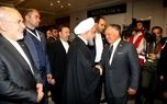 دیدار سران ایران و اردن پس از ۱۵ سال +عکس