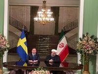 امضای ۵ یادداشت تفاهم همکاری میان ایران و سوئد
