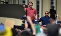 اقدام عجیب رئیس جمهور برزیل +تصاویر