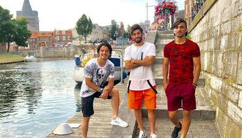 تفریح ۳بازیکن تیم ملی در بلژیک +عکس