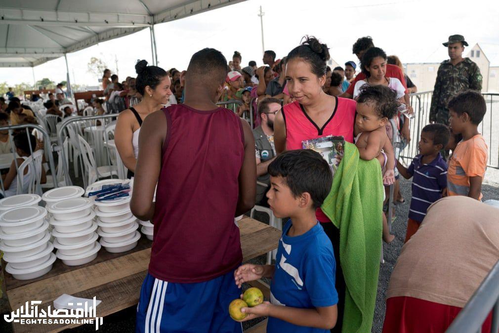پناهندگان ونزوئلایی