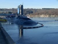 زیردریایی اتمی جدید آمریکا رسما معرفی شد +عکس
