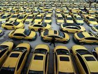 اعتصاب گسترده رانندگان تاکسی در اردن +عکس