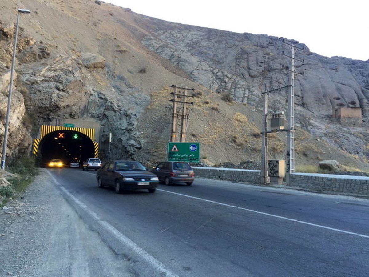 ممنوعیت تردد جنوب به شمال در چالوس و هراز
