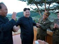 شادمانیهای موشکی رهبر کره شمالی +تصاویر