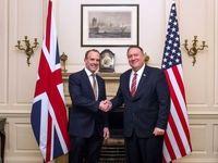 پمپئو در کنار همتای انگلیسی به ایران پیام داد