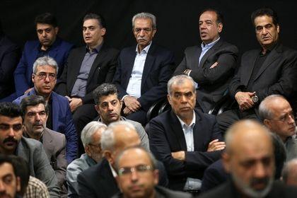 اعضای اتاق بازرگانی در مراسم تشییع عسگراولادی +تصاویر