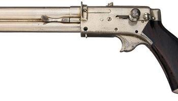 یک اسلحه عجیب و غریب از 1880میلادی +عکس
