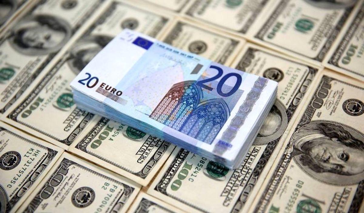 عرضه 94میلیون یورو ارز در بازار ثانویه/ ۱۰درصد ارز عرضه شده خریدار داشت