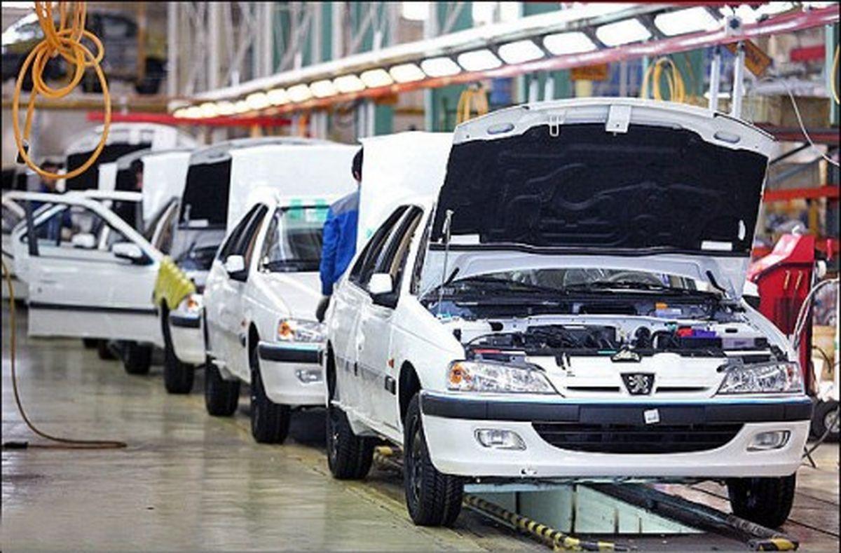 ۲۳.۴ درصد؛ افزایش تولید خودرو