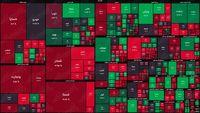 نقشه بازار سهام بر اساس ارزش معاملات/ سبزپوشی برخی نمادها امیدوارکننده ظاهر شد