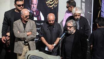 چهرهها در تشییع ناصر ملک مطیعی +تصاویر