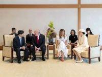 ترامپ، نخستین مهمان رسمی امپراتور جدید ژاپن +فیلم