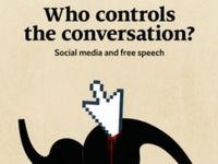 رسانههای اجتماعی و آزادی بیان؛ روی جلد اکونومیست
