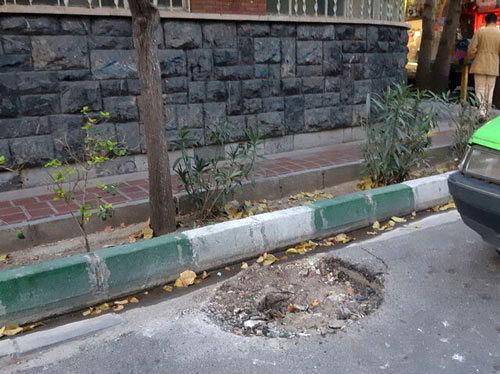 حذف نشان شیر و خورشید از تیرِ برقهایِ تهران +عکس