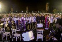 نخستین کنسرت خیابانی با همنوایی مردم و طنین ای ایران اجرا شد