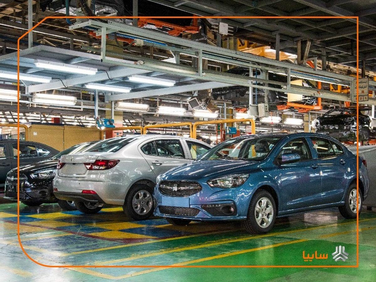 سایپا، رتبه اول تولید خودرو در کشور / آغاز تولید ۳ محصول جدید در یکسال