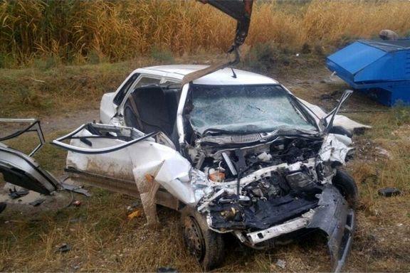 تصادف جادهای ۲کشته و ۶مصدوم برجای گذاشت