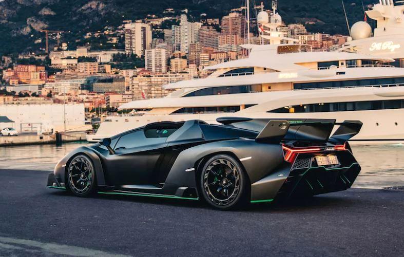 One-of-Nine Lamborghini Veneno Roadster
