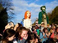 جشنواره مترسکها در انگلیس +تصاویر