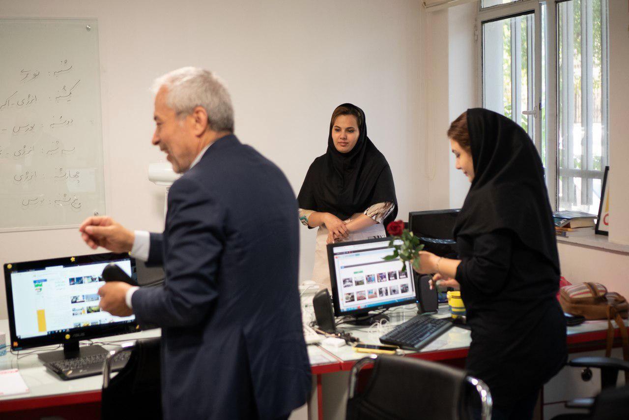 بازدید عضو شورای شهر تهران از اقتصاد آنلاین