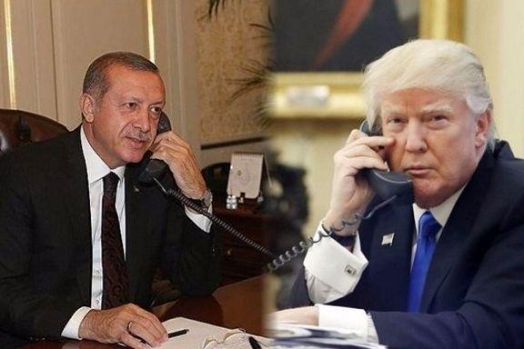 اردوغان و ترامپ درباره سوریه و لیبی رایزنی کردند