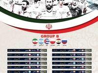 جدول بازیهای والیبال ایران در المپیک