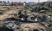 اولین لحظات سقوط هواپیمای اوکراینی +فیلم