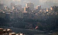 مقایسه هوا پاک و آلوده تهران +عکس