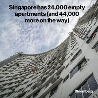 سنگاپور چه تعداد خانه خالی دارد؟