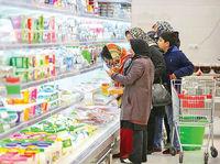 نوسان قیمت کالاهای سوپرمارکتی