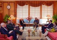 ظریف با عمران خان دیدار کرد +فیلم